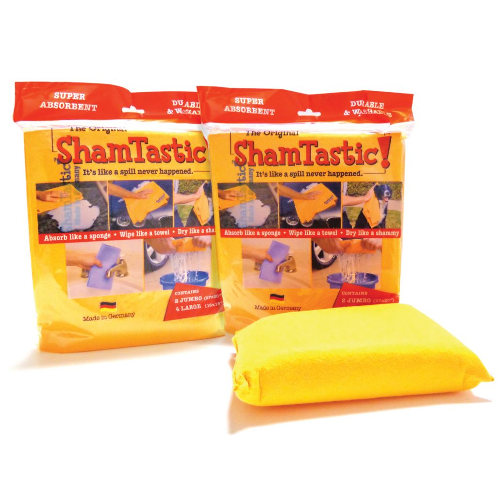 443-272 - SMART™ ShamTastic! Three-Piece Kitchen Cloth & Sponge Set