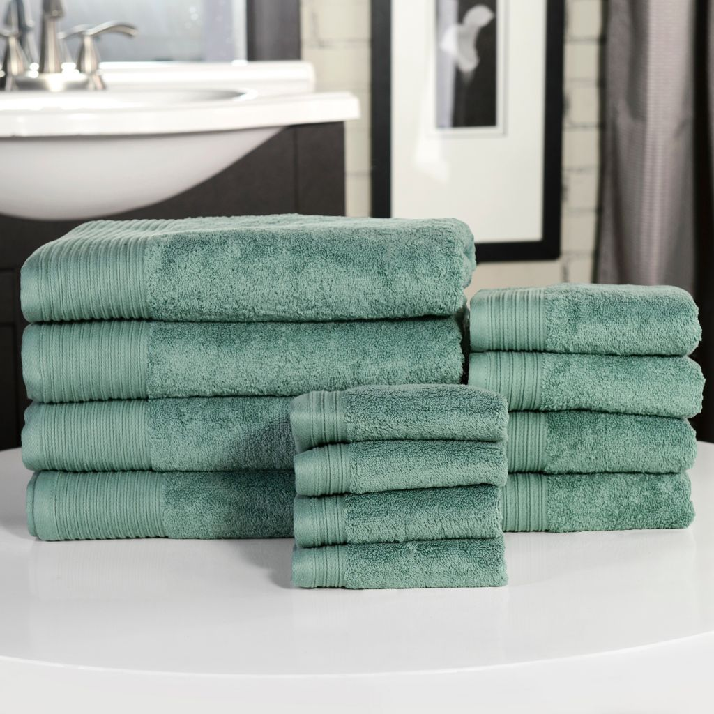 443-275 - North Shore Linens™ Supima® Cotton 12-Piece Towel Set