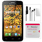 443-330 - T-Mobile Android™ 4G Quad-Core Phone w/ 5MP Camera, GPS, Car Charger & Earbuds