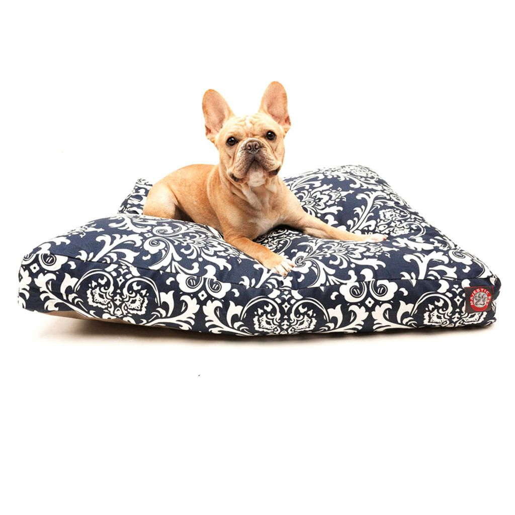 443-339 - Majestic Pet Products French Quarter Print Rectangle Pet Bed