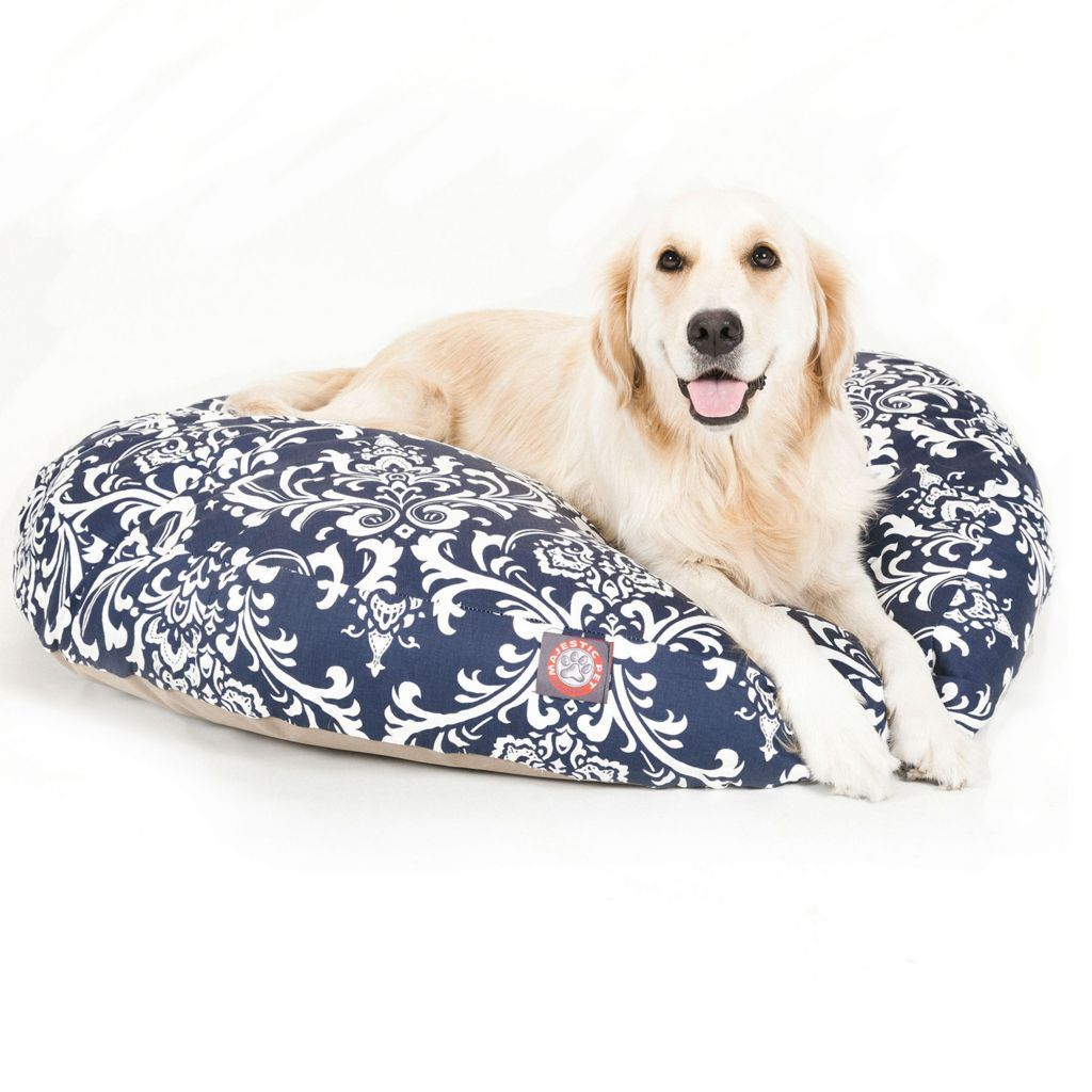 443-340 - Majestic Pet Products French Quarter Print Round Pet Bed