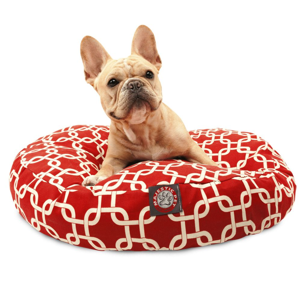 443-342 - Majestic Pet Products Links Print Round Pet Bed