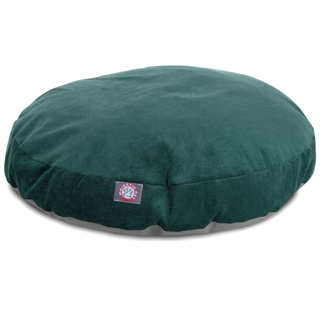 443-348 - Majestic Pet Products Villa Print Round Pet Bed