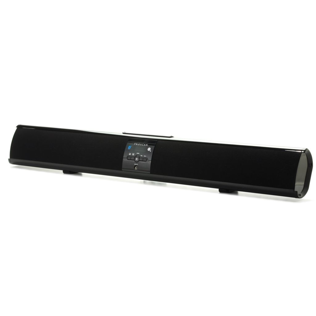 "443-357 - Proscan 32"" Bluetooth® Soundbar Speaker w/ LCD Clock Display"