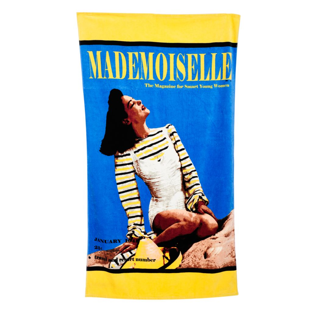 "443-365 - Conde Nast 70"" x 40"" 100% Cotton Beach Towel"