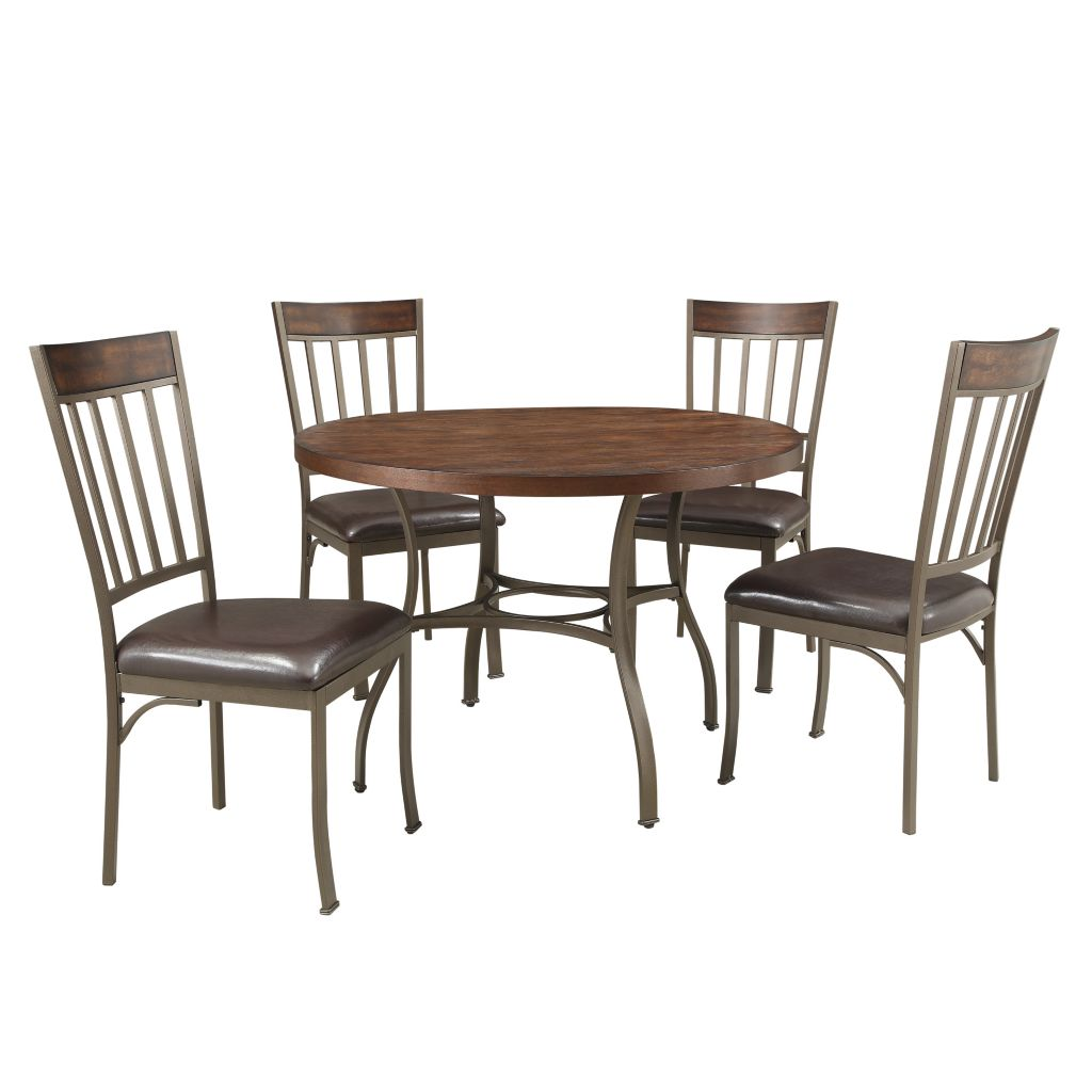 443-482 - HomeBasica Kedvale Five-Piece Dining Set