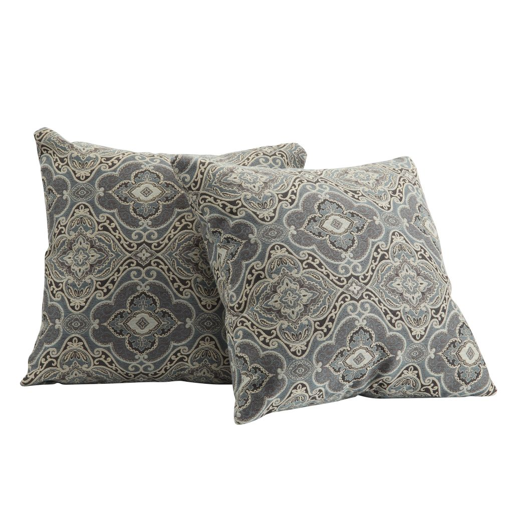 443-484 - HomeBasica Set of Two Lorel Throw Pillows