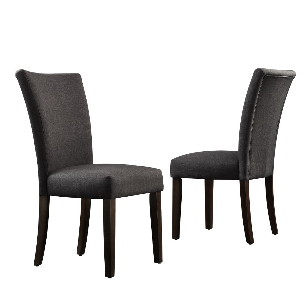 "443-499 - HomeBasica Set of Two 38.5"" Canfield Parson Side Chairs"