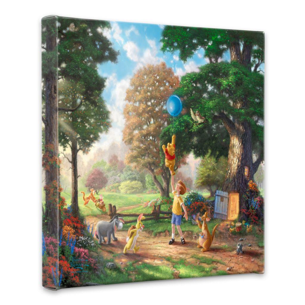 "443-500 - Thomas Kinkade ""Winnie the Pooh"" 14"" x 14"" Gallery Wrap"
