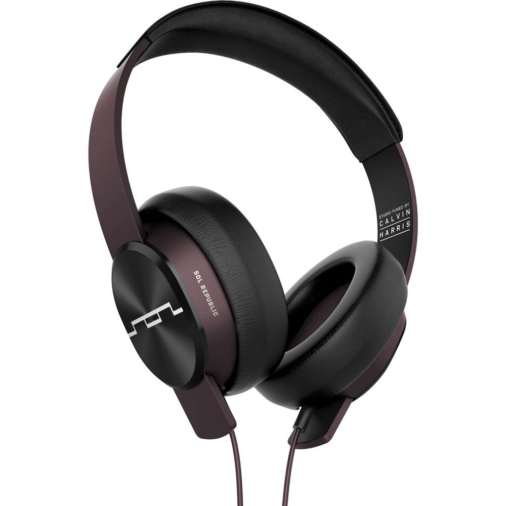 443-589 - SOL REPUBLIC 1631-33 Master Tracks XC Maroon Over-Ear Headphones