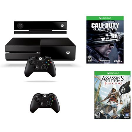 443-639 - Xbox One Gaming Console w/ Call of Duty: Ghosts & Assassin's Creed IV Games