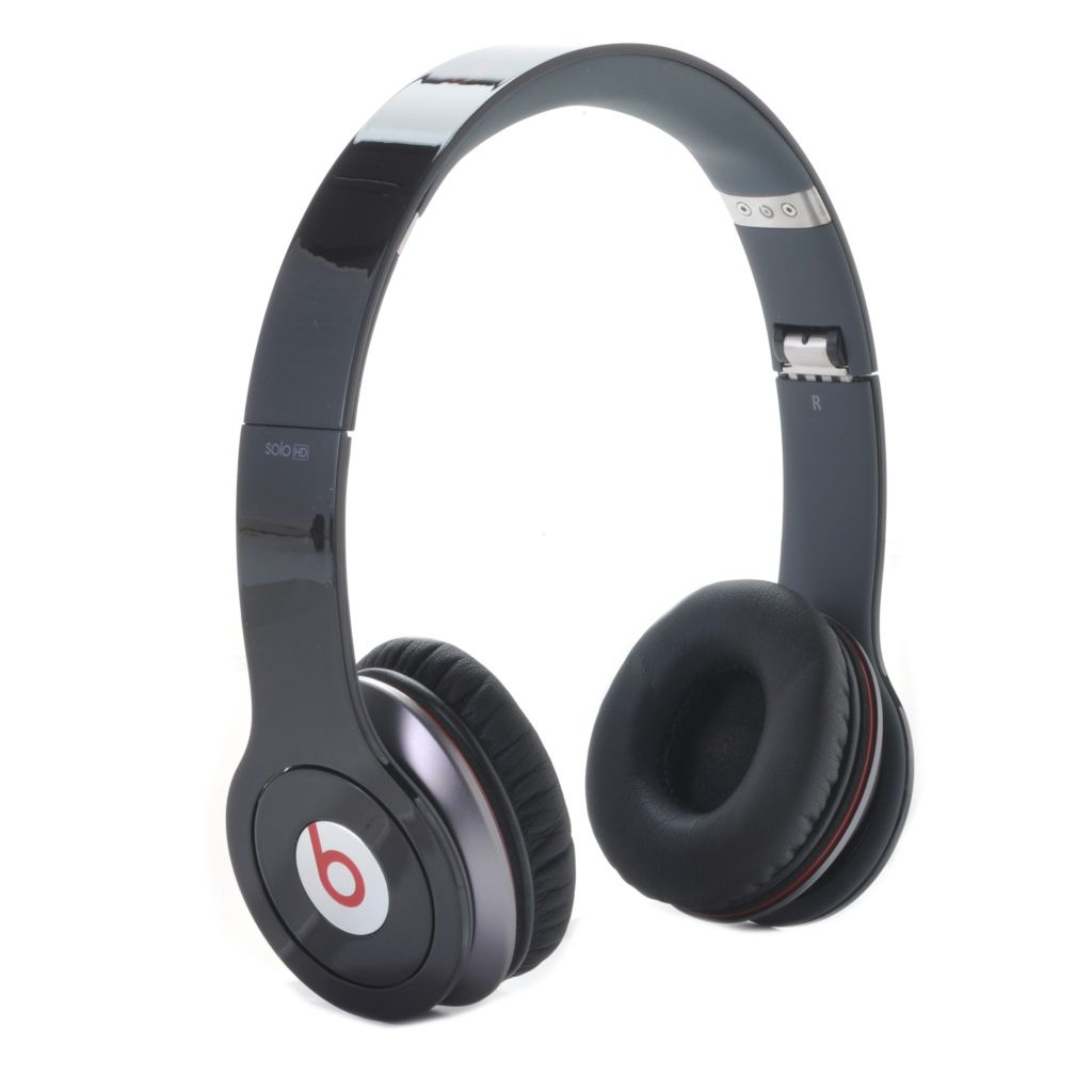 443-644 - BeatsSolo® HD On-Ear Headphones w/ Built-in Mic & Carrying Case