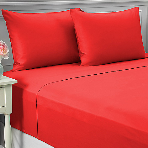 443-687 - North Shore Linens™ 700TC 100% Egyptian Cotton SureSoft® Four-Piece Sheet Set