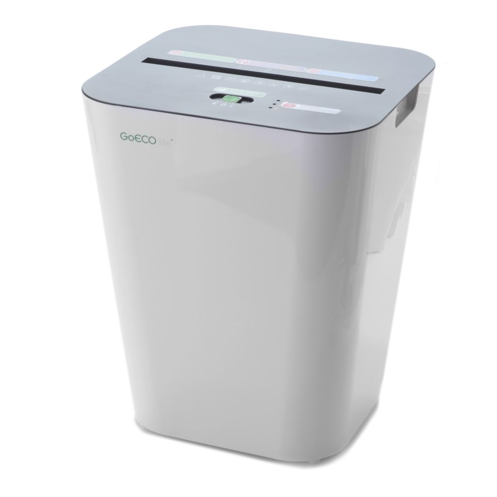 443-704 - GoECOlife 6-Sheet Micro-Cut Document Shredder & Waste Basket