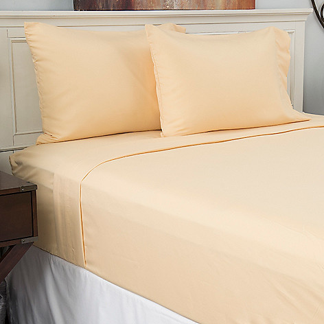 443-708 - Cozelle® Choice of Color Microfiber Four-Piece Sheet Set