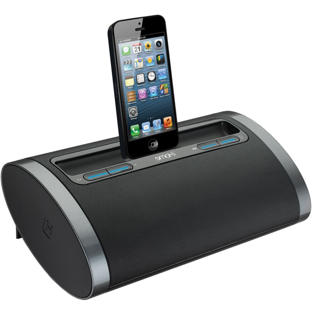 443-902 - iHome Lightning Speaker Dock Black