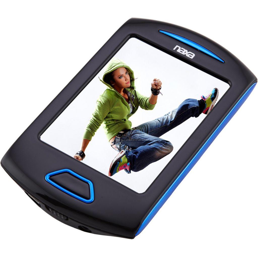 "443-921 - Naxa 2.8"" Touch Screen 4GB Built-in Camera MP3 Player"