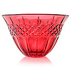 "443-939 - Marquis® by Waterford® 8"" Choice of Color Shelton Flared Crystalline Bowl"