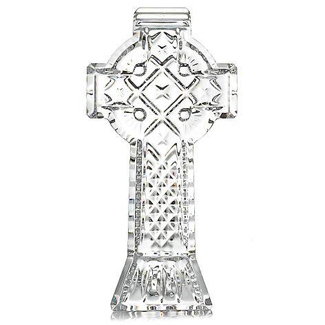 443-956 - Waterford® Crystal 5.25'' Celtic Cross Collectible