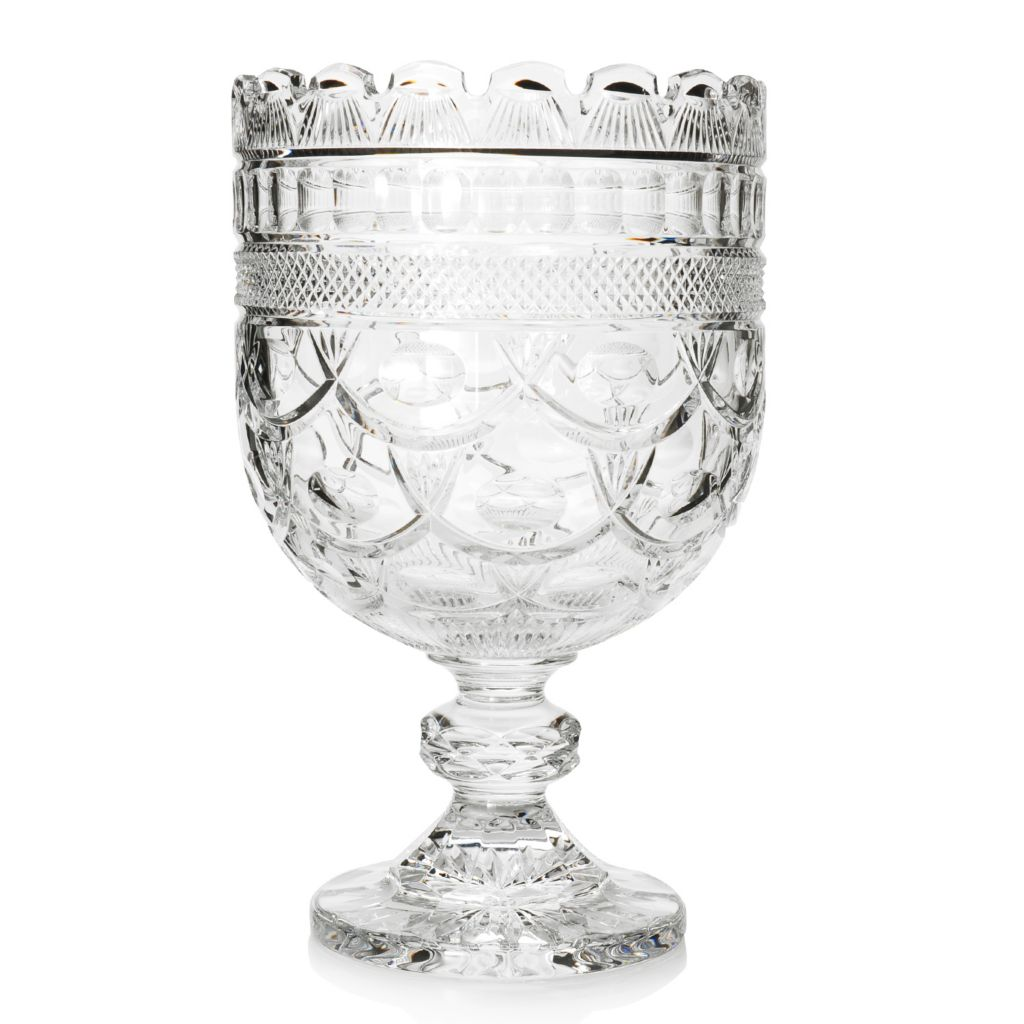 "443-983 - House of Waterford® Camilla 15"" Crystal Centerpiece"