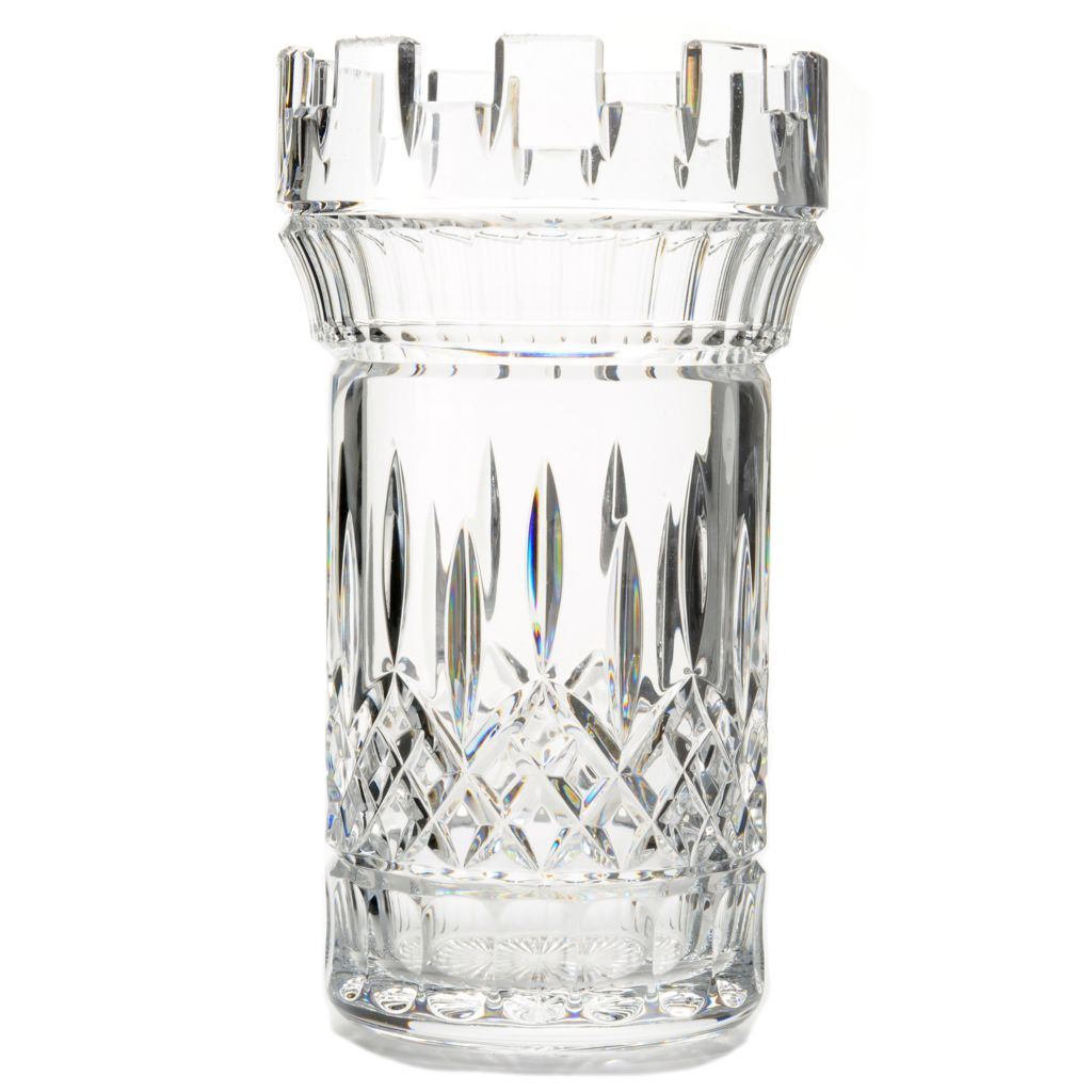 "443-985 - House of Waterford® Crystal Lismore 10"" Castle Vase"