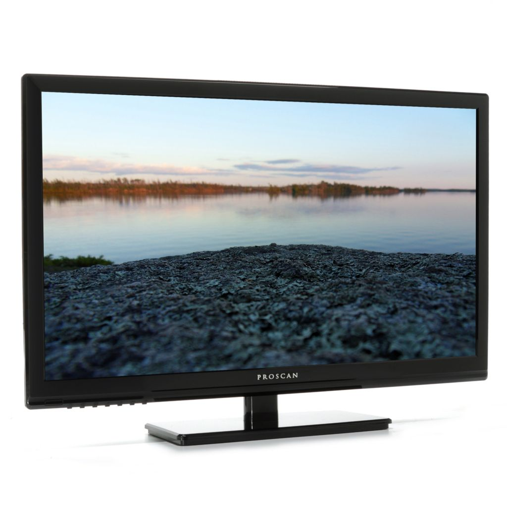 "443-988 - Proscan 24"" LED HDTV w/ Built-in DVD Player & Two HDMI Ports"