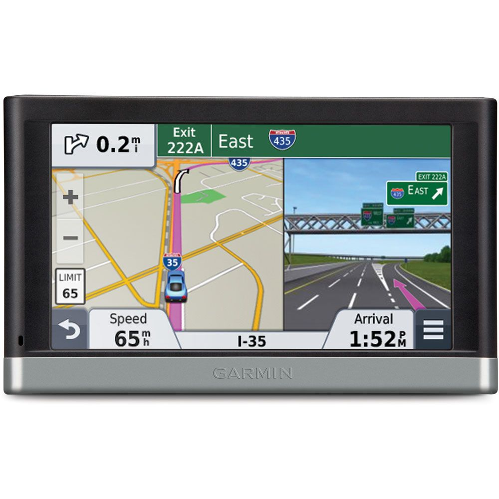 "444-109 - Garmin Nuvi 5"" GPS w/ North America Coverage & Lifetime Map/Traffic Updates - Refurbished"