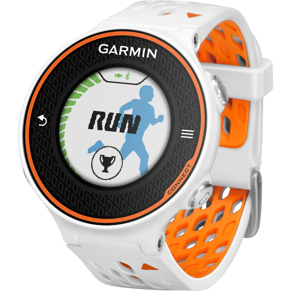 444-114 - Garmin Forerunner 620 Advanced GPS Fitness Watch w/ Optional HRM-Run Monitor Band