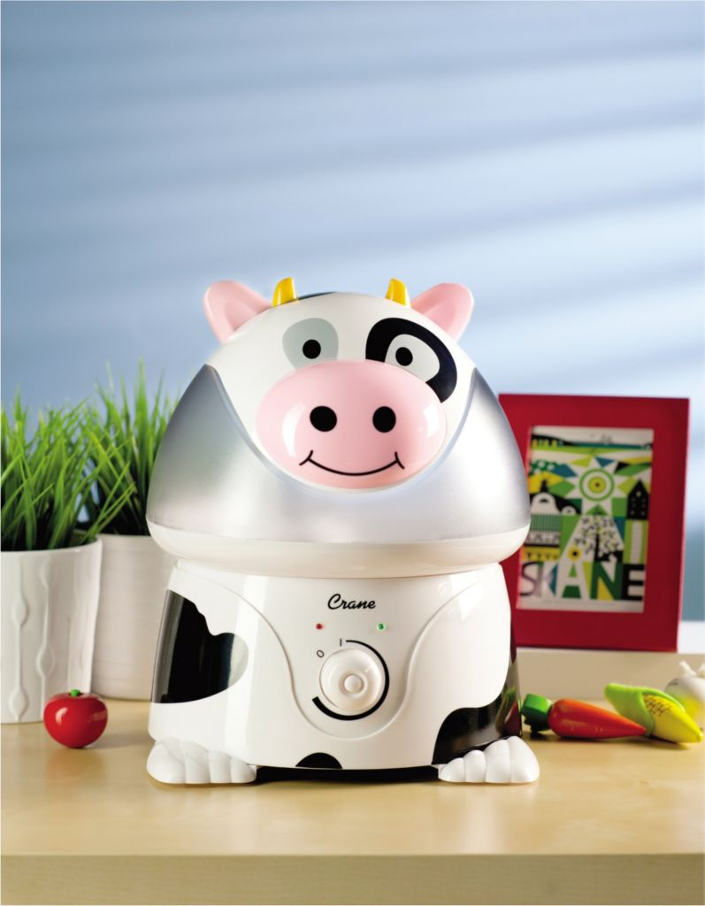 444-159 - Crane BPA-Free Animal-Shaped Ultrasonic Cool Mist Humidifier