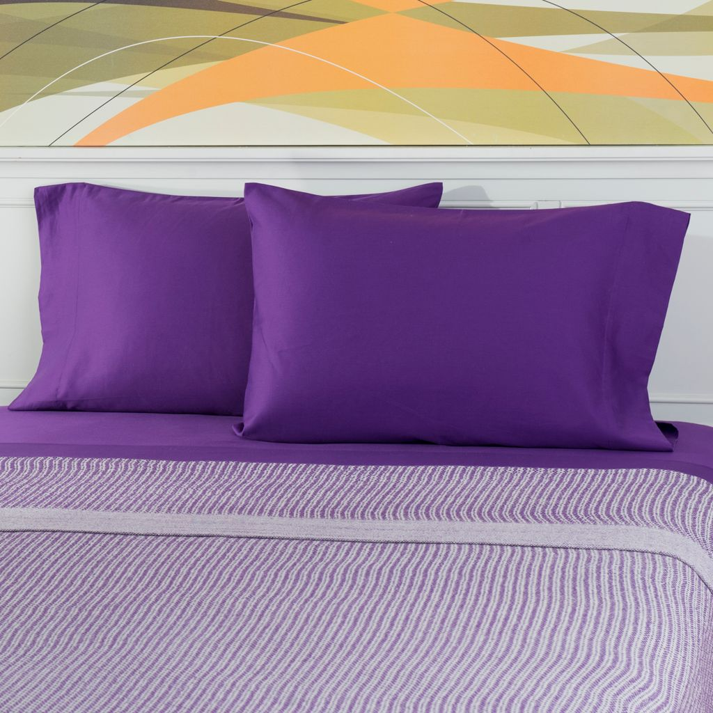 444-181 - Cozelle® 300TC 100% Cotton Solid Sateen Pillowcase Pair