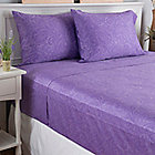 444-207 - North Shore Linens™ 700TC 100% Egyptian Cotton Paisley Four-Piece Sheet Set