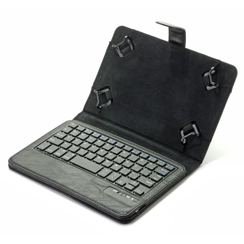 "444-208 - Props™ Bluetooth® Universal Keyboard Case w/ Stand for 7"" & 8"" Tablets"