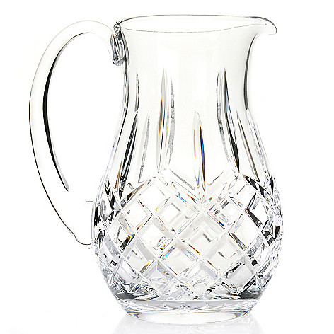 444-212 - Waterford Crystal Lismore 64 oz Wedge & Diamond Cut Pitcher