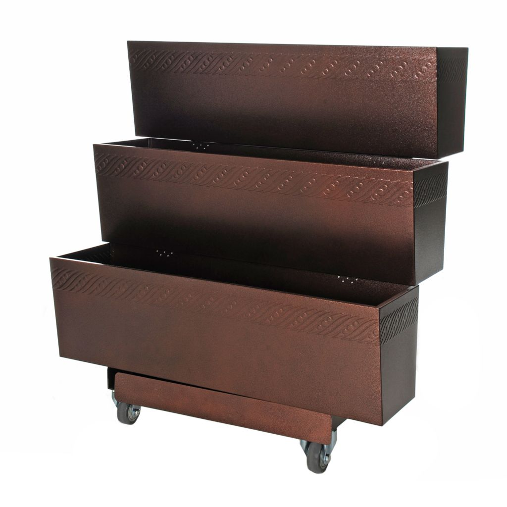 "444-230 - Mobilegro® Three-Tier Portable 40"" Garden Cart"