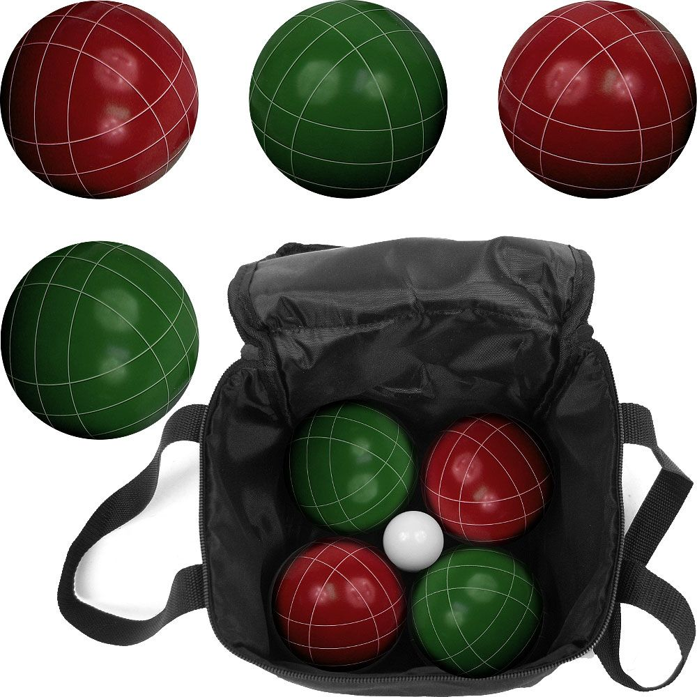 444-237 - Premium Full Size Bocce Ball Set w/ Carrying Case