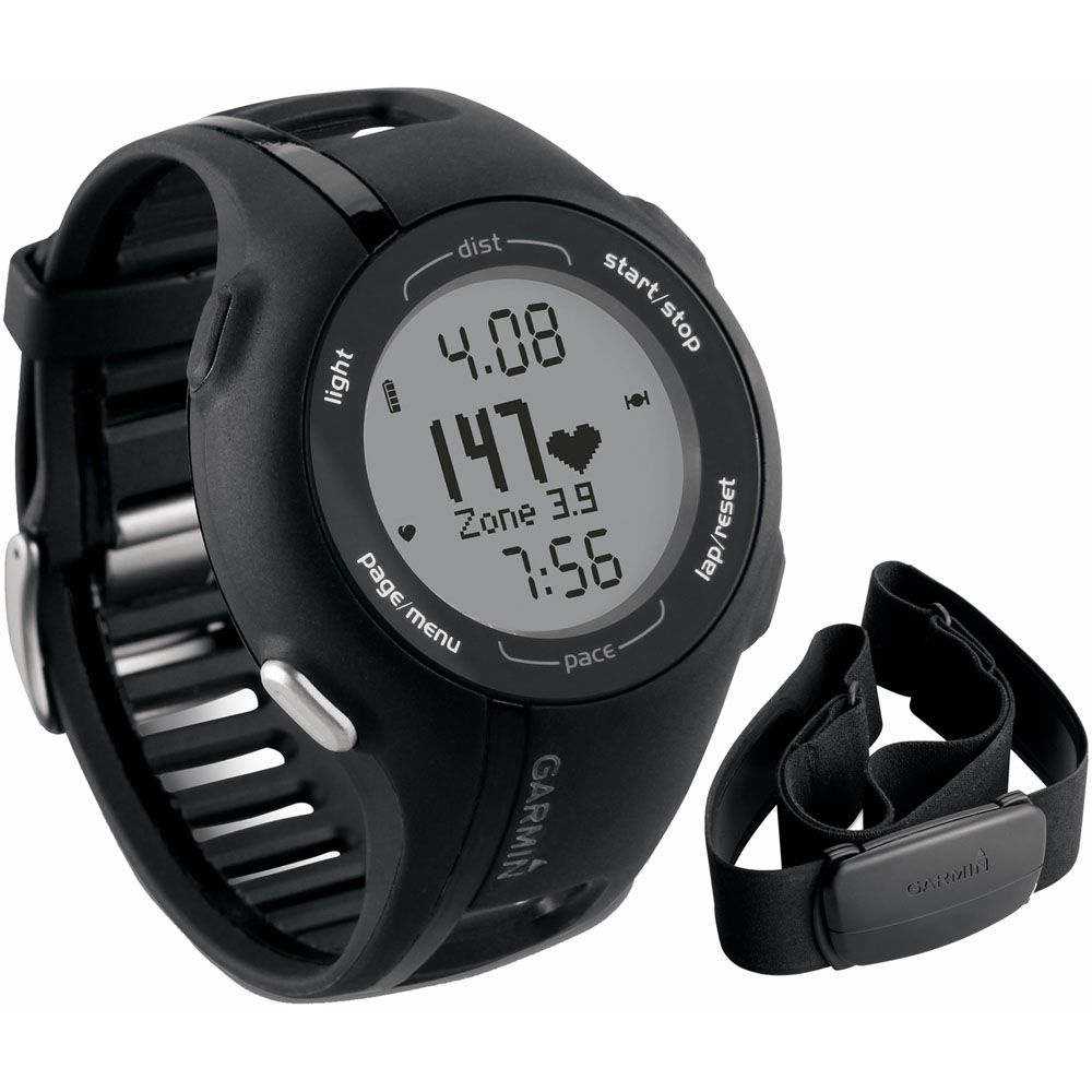 444-253 - Garmin Forerunner GPS Fitness Watch w/ Heart Rate Monitor