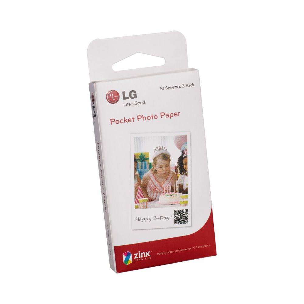 444-322 - LG Pocket Photo Paper