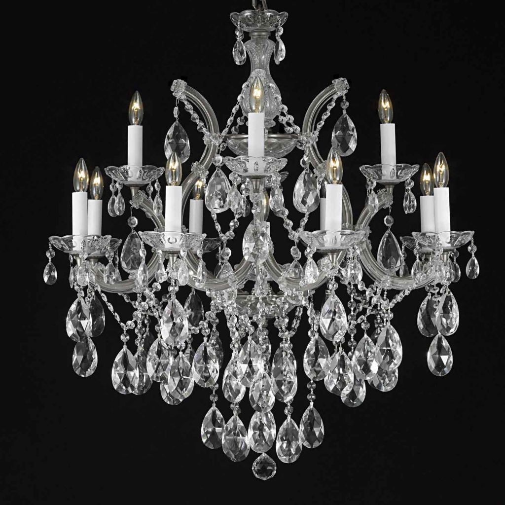 "444-384 - Gallery Maria Theresa Collection 30"" Crystal Chandelier"