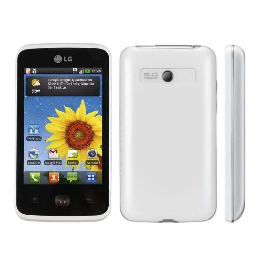444-438 - LG Optimus Hub Unlocked Android™ Smartphone