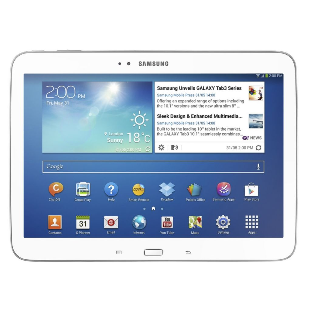 "444-456 - Samsung Galaxy Tab 3 16GB 10.1"" 3G + Wi-Fi Android Tablet"