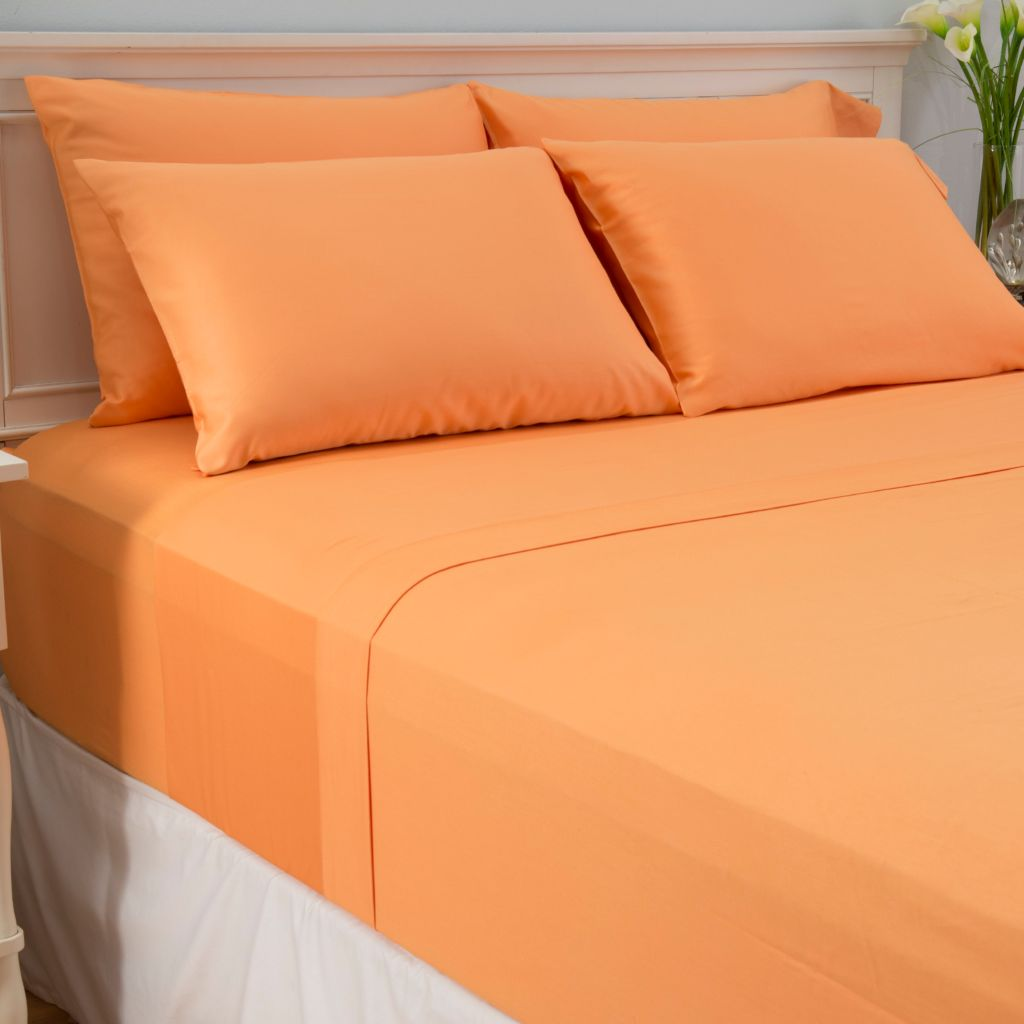 444-477 - Cozelle® 300TC 100% Cotton Sateen Six-Piece Sheet Set