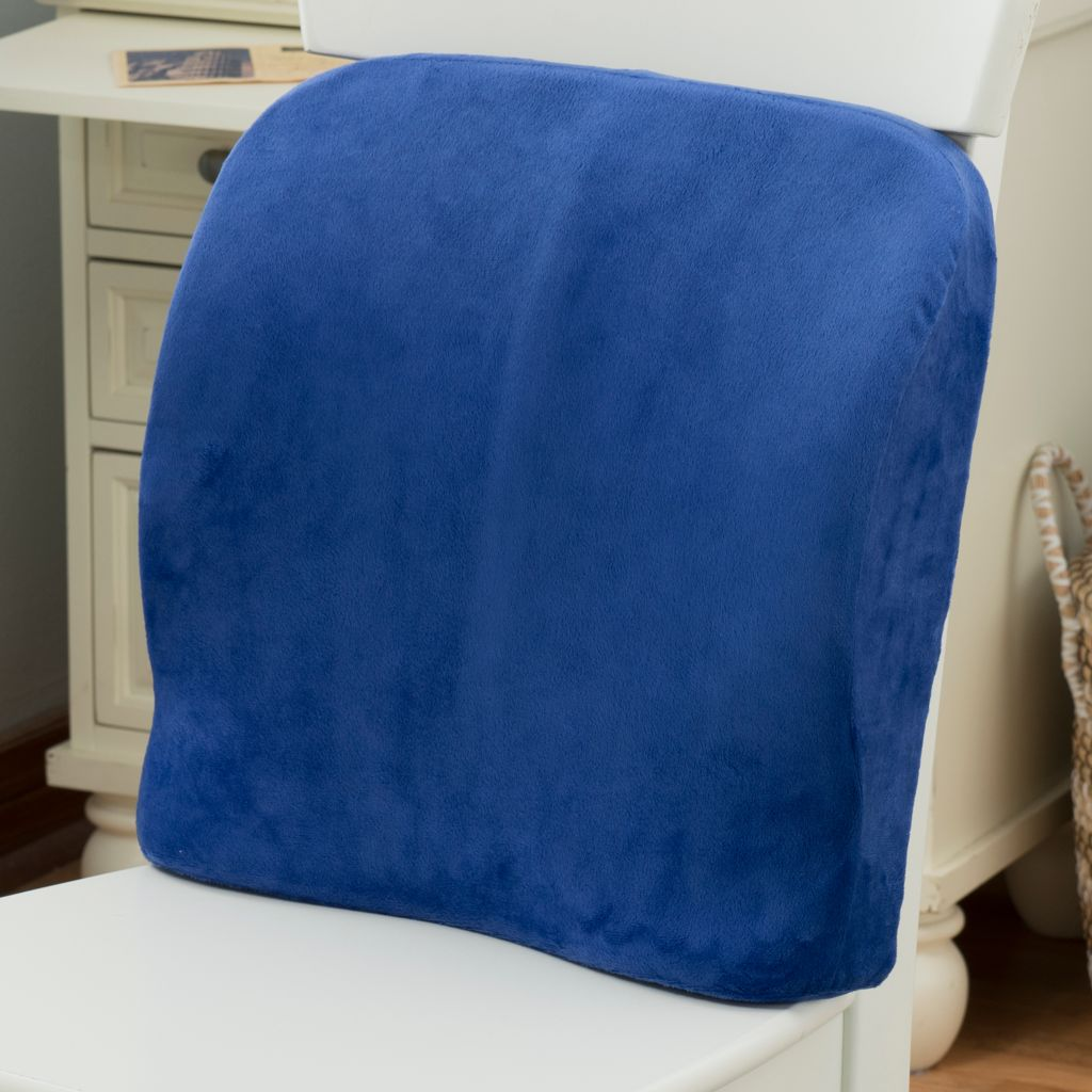444-485 - North Shore Linens™ Molded Memory Foam Lumbar Support Pillow