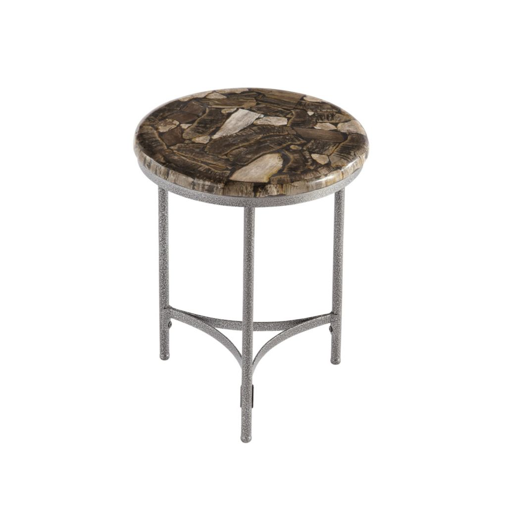 444-500 - Turn to Stone Round Accent Table