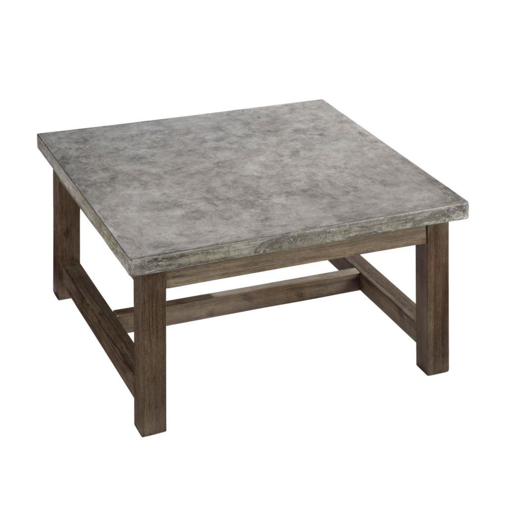 444-502 - Concrete Chic Square Coffee Table