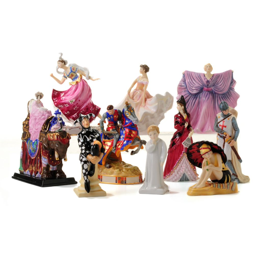 444-511 - Royal Doulton® HN Icons 10-Piece Bone China Hand-Decorated Figurine Set