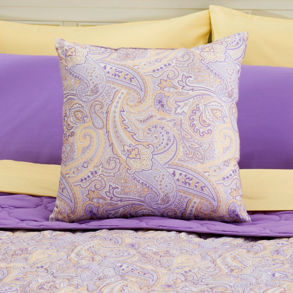"444-530 - Cozelle® 18"" x 18"" Microfiber Reversible Decorative Pillow"