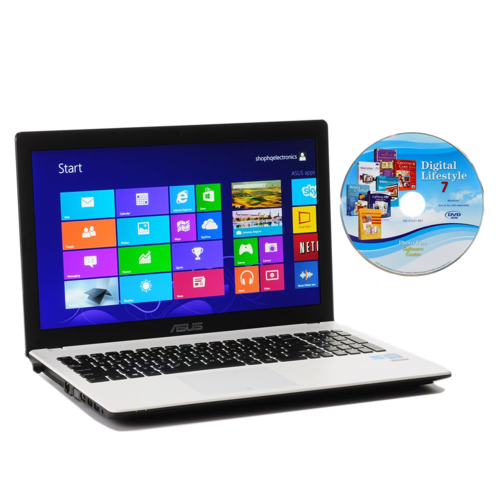 "444-532 - ASUS 15.6"" 1.86GHz Dual-Core 4GB RAM/500GB HDD Wi-Fi Notebook w/ Software"