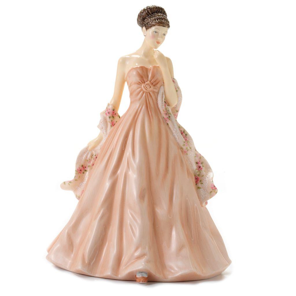"444-579 - Royal Doulton® Carol 9"" Bone China Hand-Decorated Pretty Ladies Figurine"