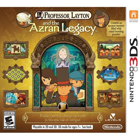 444-588 - Professor Layton and the Azran Legacy Nintendo 3DS Video Game