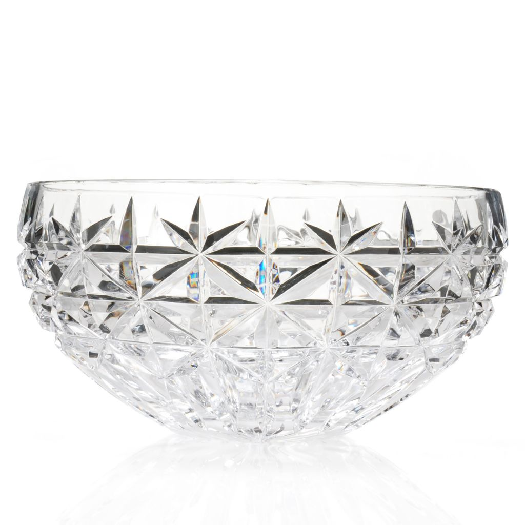 "444-656 - House of Waterford® Irish Stars 9"" Crystal Bowl"